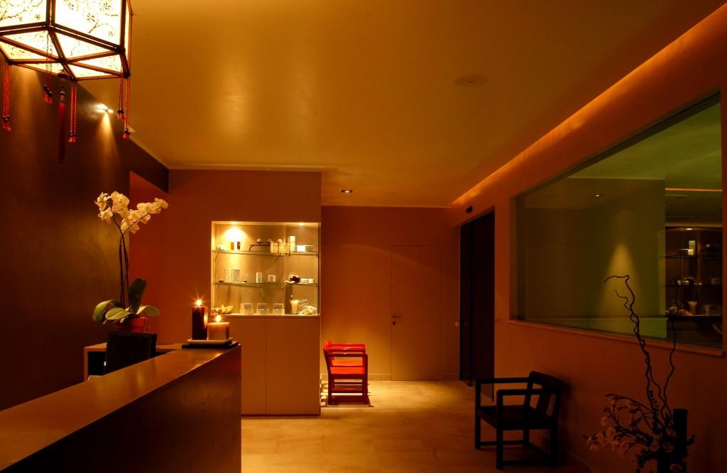 Fiuggi: Hotel Ambasciatori, Centro Benessere Tangerine