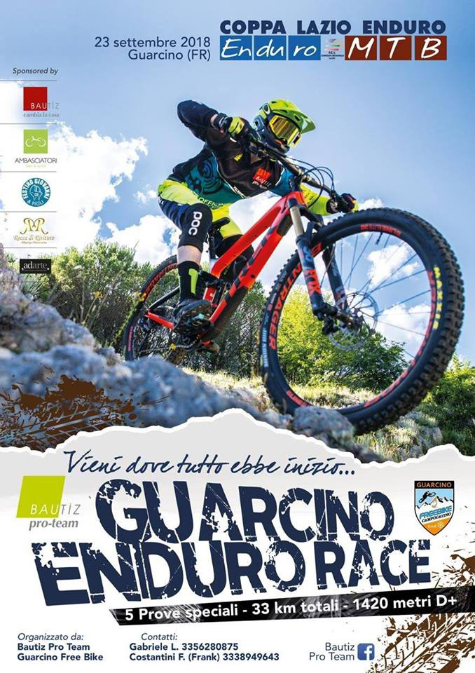 GUARCINO ENDURO RACE … la MTB sbarca in Ciociaria