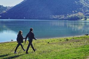 Un'escursione di Nordic Walking a Fiuggi